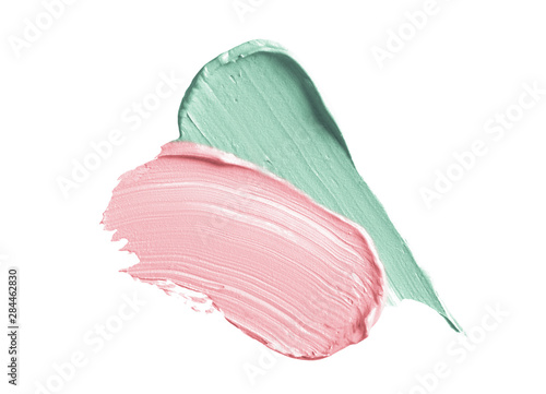 Color corrector strokes isolated on white background Canvas-taulu