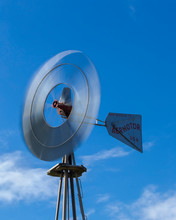 Aermotor Windmill, Seadrift, Texas