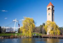 WA, Spokane, Riverfront Park, ...