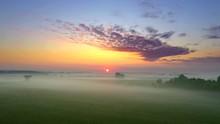 Blankets Of Fog Lay Across Inc...