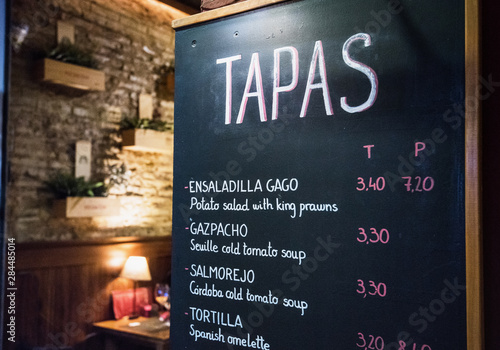 Fotografía Tapas bar in Spain