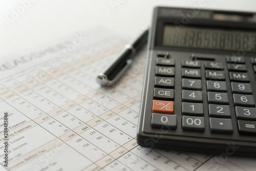 Photo bookkeeping accounting
