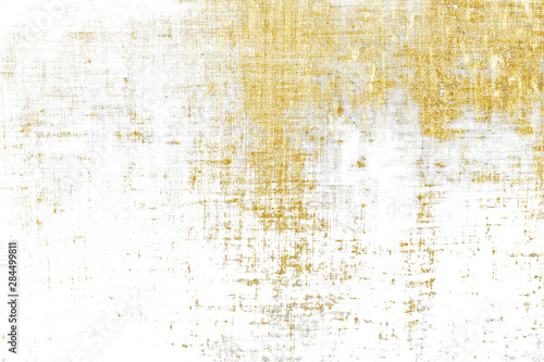 Gold brush stroke design element cloth knitted.