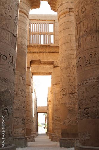 Obraz na plátne  Keops, chefren, mykerinos obelisk, Hatshepsut, Karnak, horus, Abu Simbel, Ramese