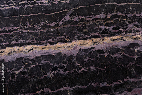 Fotobehang Marmer Black marble background as part of your strict exterior view. High quality texture in extremely high resolution. 50 megapixels photo.