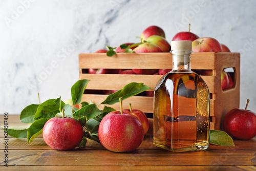 Photo Natural apple cider vinegar