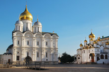 Cathedral Square In Moscow Kre...