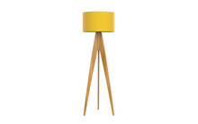 3d Illustration Of  Modern Tripod Floor Lamp
