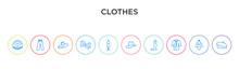 Clothes Concept 10 Outline Col...