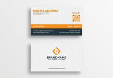 Professional Business Card Design Template, Modern Visiting Card