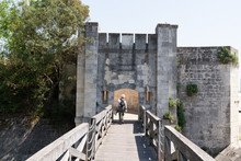 La Rochelle Town Ramparts With...