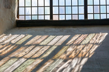 Church Windows With Beautiful Color Changes On The Window Niche