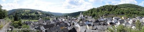 Obraz na plátně Altstadt von Dausenau an der Lahn