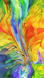 canvas print picture - Multiple Color Background