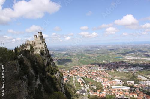 San Marino. Fortress on Titano mount