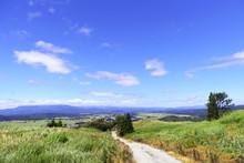 高所からの田舎の風景