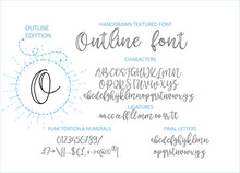 Hand Drawn Vector Alphabet Fon...