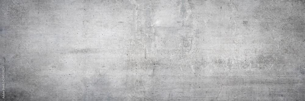 Fototapeta Textur einer alten grauen Mauer aus Beton als Hintergrund