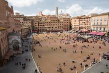 Piazza Del Campo -  Siena, Italy