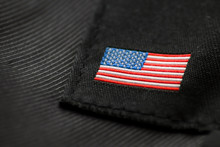 American Flag Embroidery.