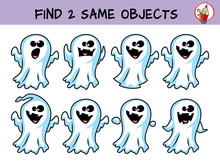 Funny Little Ghosts. Find Two ...