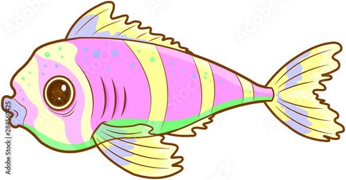 Poster Magie Exotic Fish
