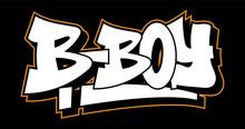 Graffiti Style Lettering Text Design