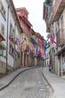 Rue colorée à Amarante, Portugal
