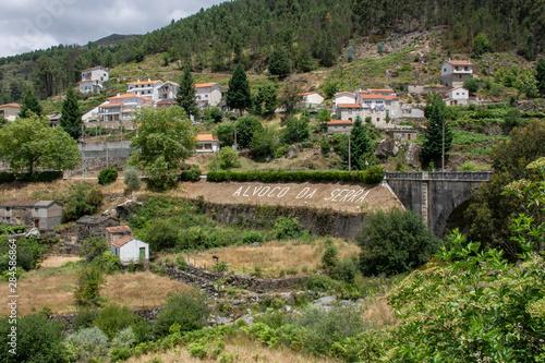 The village of Alvoco da Serra, Portugal