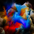 canvas print picture - Abstract Paint
