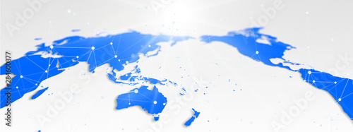 抽象的な世界地図 © k_yu