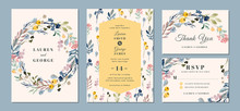 Wedding Invitation Suite With ...