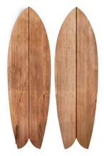 Vintage Wood Fish Board Surfbo...