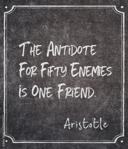 Photo fifty enemies Aristotle