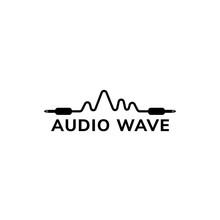 Audio Wave Logo Design Templat...