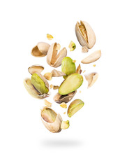 Pistachios Crushed Into Many P...