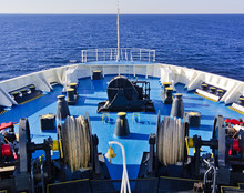 Large Ferry Bow With Equipment...