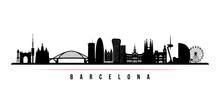 Barcelona City Skyline Horizon...