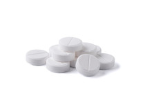 Pills Isolated On White Backgr...