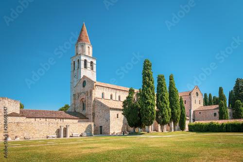 Aquileia, Italy - Basilica di Santa Maria Assunta in Aquileia (UNESCO World Heri Wallpaper Mural