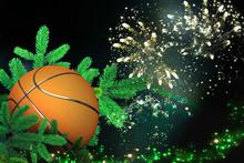Basket Ball, Festive Christmas...