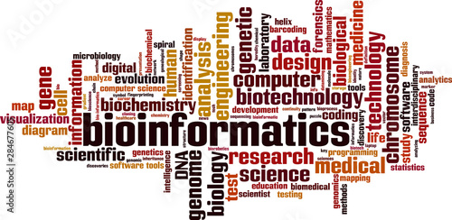 Photo Bioinformatics word cloud