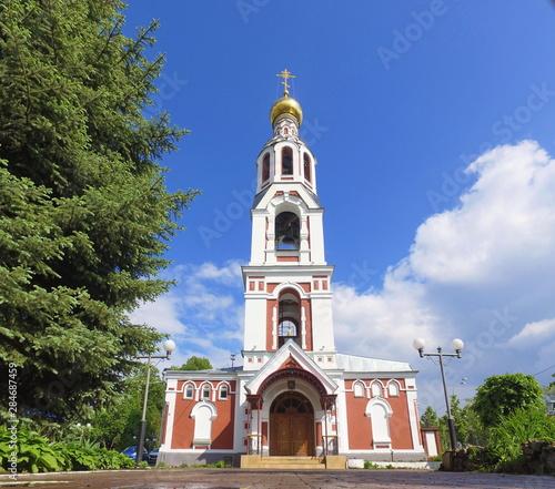 The Church Of St. Barbara, Kazan, Tatarstan, Russia
