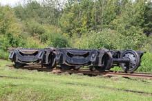 Spare Wheels, Alberta Railway Museum, Edmonton, Alberta