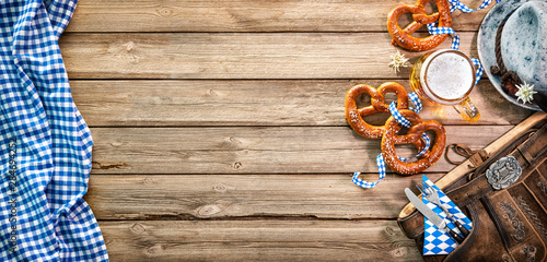 Background for Oktoberfest Fototapet