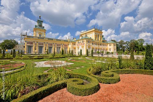 Fototapeta Pałac w Wilanowie. obraz
