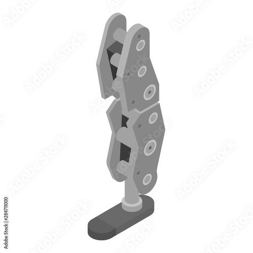 Robot foot limb icon Fototapeta