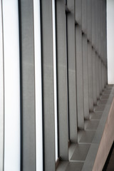 abstract windows side view