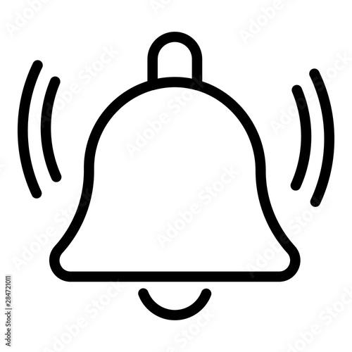 Fototapeta Notification bell icon