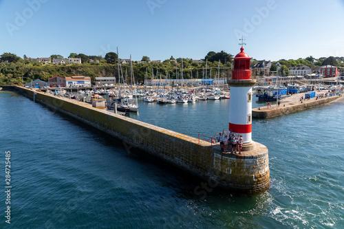 Obraz na plátne  Entrée du Port de l'ile de Groix en Bretagne